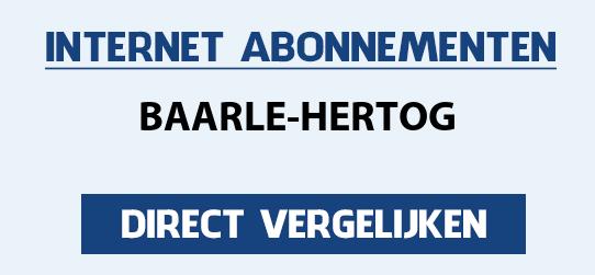 internet vergelijken baarle-hertog