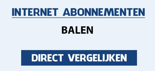 internet vergelijken balen