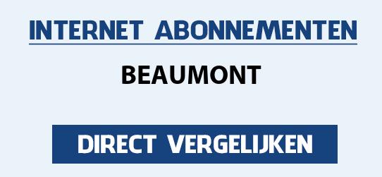 internet vergelijken beaumont