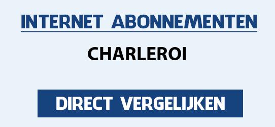 internet vergelijken charleroi