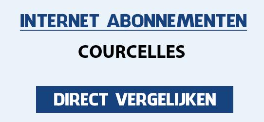 internet vergelijken courcelles