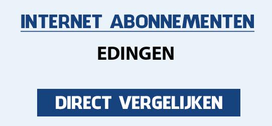 internet vergelijken edingen
