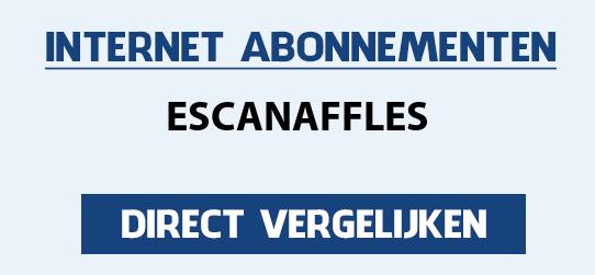 internet vergelijken escanaffles