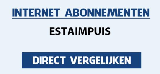 internet vergelijken estaimpuis