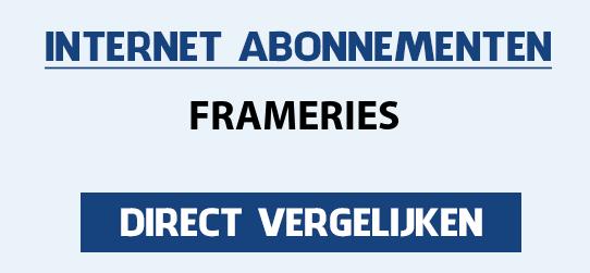 internet vergelijken frameries