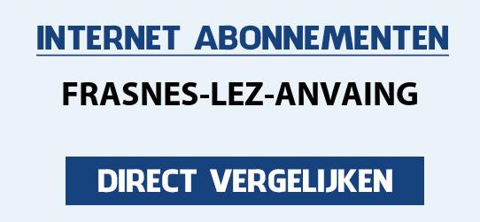 internet vergelijken frasnes-lez-anvaing