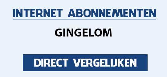 internet vergelijken gingelom