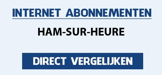 internet vergelijken ham-sur-heure
