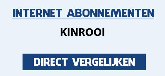 internet vergelijken kinrooi