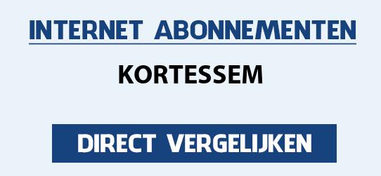 internet vergelijken kortessem
