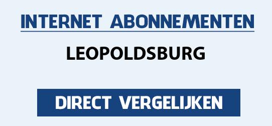 internet vergelijken leopoldsburg