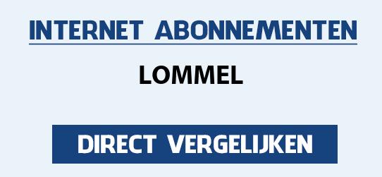 internet vergelijken lommel