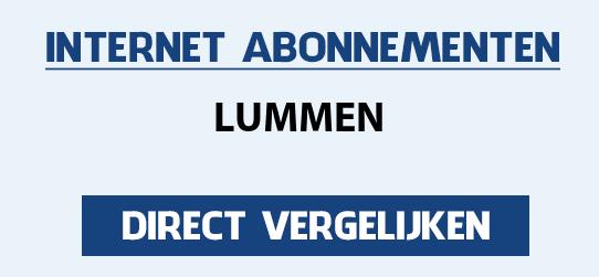 internet vergelijken lummen