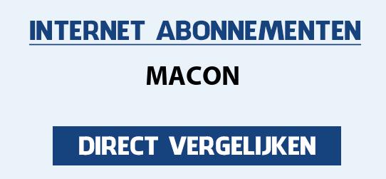 internet vergelijken macon