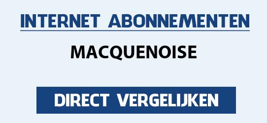 internet vergelijken macquenoise