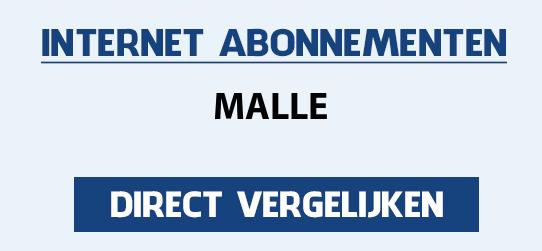 internet vergelijken malle