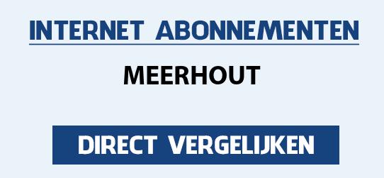internet vergelijken meerhout