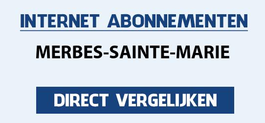 internet vergelijken merbes-sainte-marie