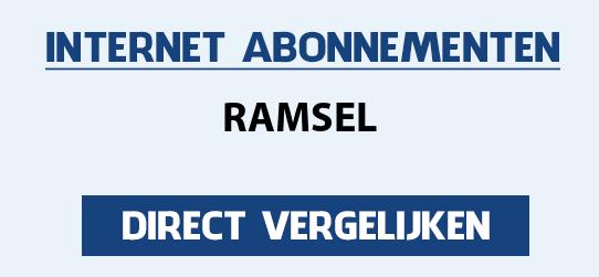 internet vergelijken ramsel