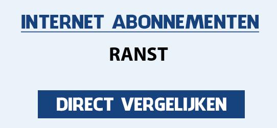 internet vergelijken ranst