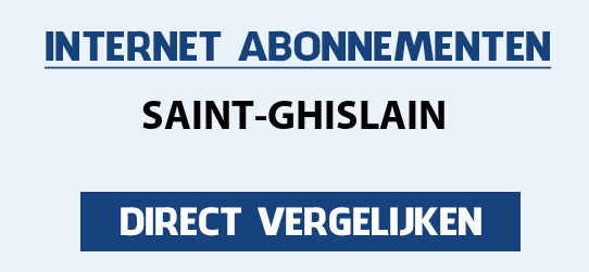 internet vergelijken saint-ghislain