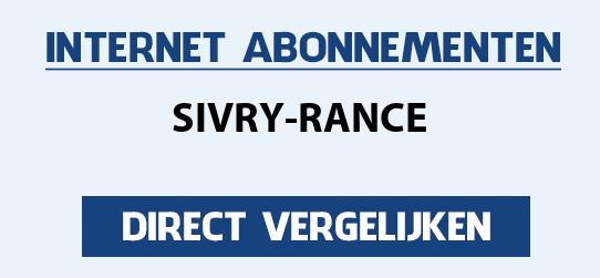 internet vergelijken sivry-rance