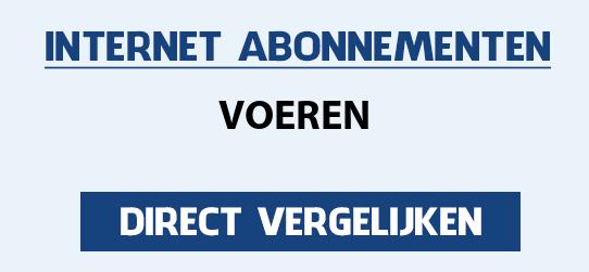 internet vergelijken voeren