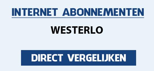 internet vergelijken westerlo